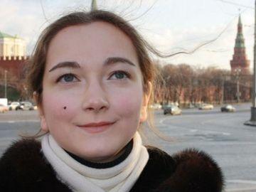 Blogger feminista Lyubov Kalugina