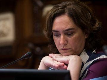 La alcaldesa de Barcelona Ada Colau