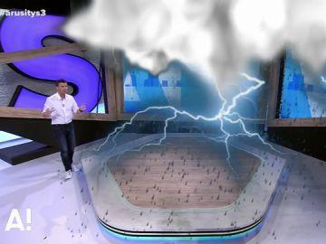 Marc Redondo presenta un nuevo simulador en Arusitys