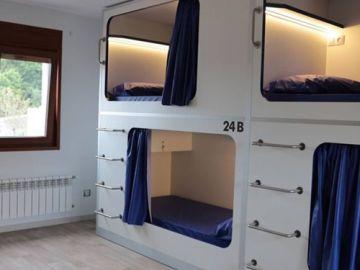 Un ejemplo de 'pisos colmena'
