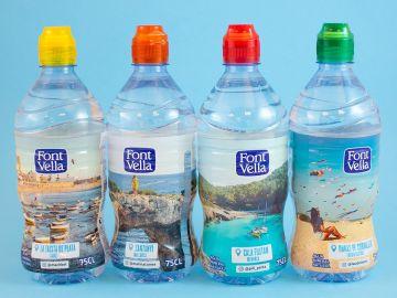 Las polémicas botellas de agua de Font Vella