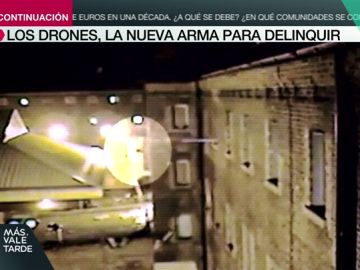 Sobrevuelan la cárcel y lanzan paquetes de droga a los presos a través de la ventana: así actúan los drones 'malvados'