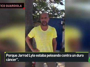 Pep Guardiola compara una acción contra el cáncer con la lucha por la libertad de presos políticos