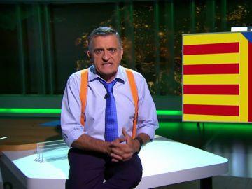 El Gran Wyoming critica la situación en Cataluña
