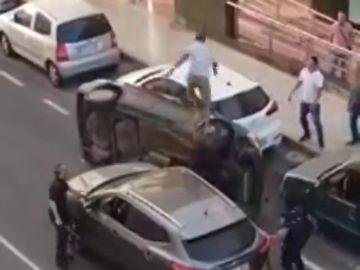 Lanzarote vive una espectacular persecución policial que acabó en un 'pilla-pilla'