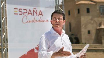 El ex primer ministro de Francia Manuel Valls