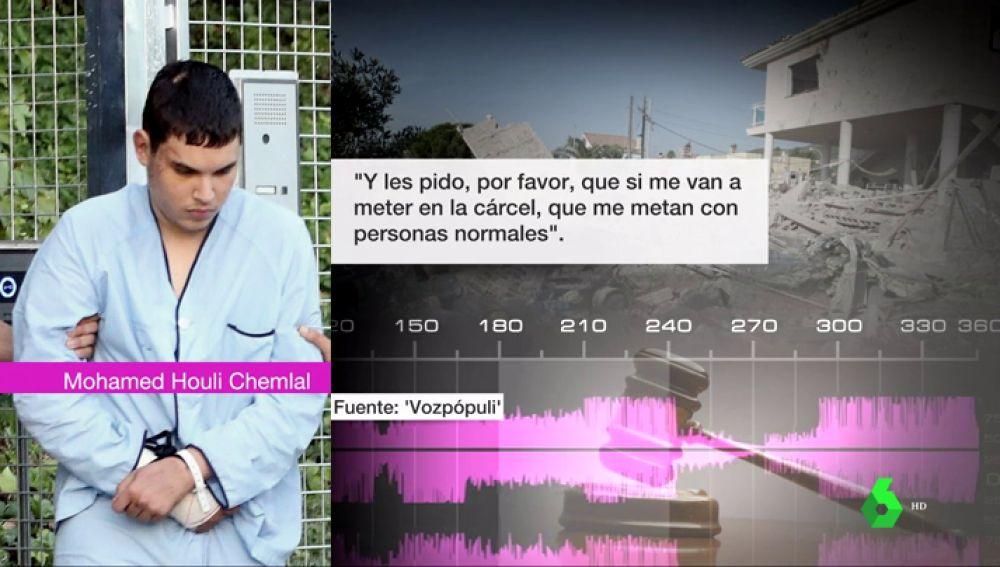 """""""Si me meten en la cárcel, que sea con personas normales"""": los audios de la confesión de la célula terrorista que atentó el 17A"""