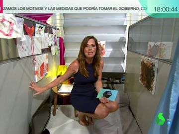 """Mamen Mendizábal experimenta cómo es vivir en un 'piso colmena': """"En ningún momento me podría poner de pie"""""""