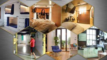Prototipo de 'casa colmena' publicado por Idealista