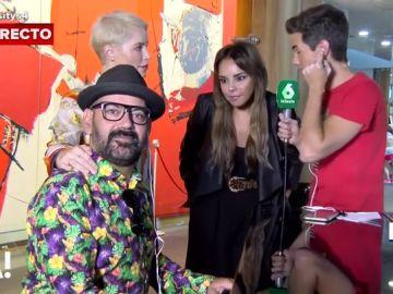 Soraya, Chenoa y José Corbacho con Ricky García para Arusitys