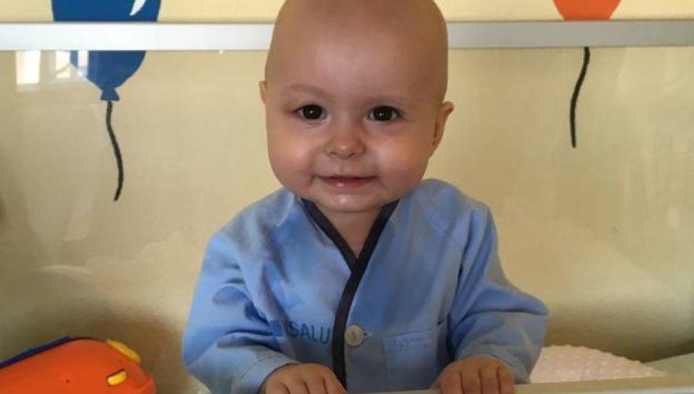 La bebé Cataleya que necesita un donante de médula