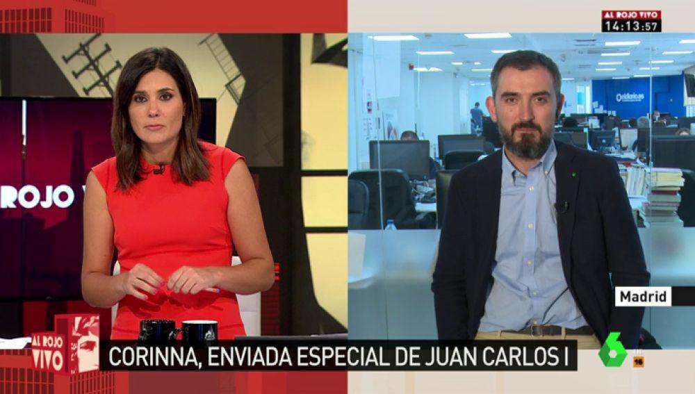 """""""¿Qué sabía el Gobierno de estos negocios?"""": Escolar da las claves del viaje de Corinna como """"representante"""" de Juan Carlos I junto al embajador Manuel Alabart"""