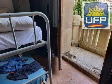 Las condiciones en las que viven los Policías enviados a Cataluña