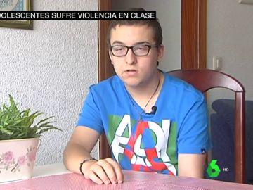 Fran, víctima de acoso escolar