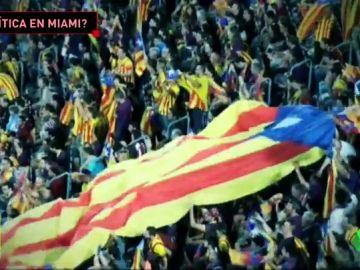 El Girona-Barcelona, criticado por ser un posible altavoz del independentismo