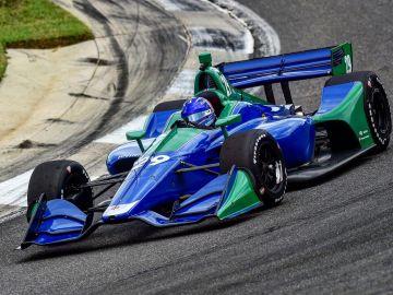 Fernando Alonso, subido en el IndyCar de Andretti Autosport