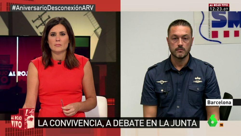 """Toni Castejón: """"Poner o quitar lazos no es un delito; la manera en la que lo hagas, puede que sí"""""""