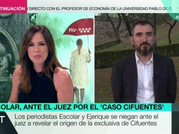"""Ignacio Escolar, tras declarar ante el juez por el 'caso máster': """"Ha sido terrible encontrarnos interrogados por publicar una información"""""""
