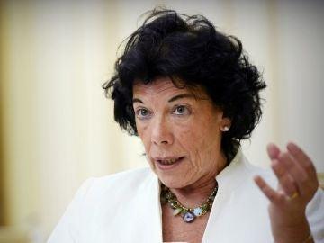 La ministra de Educación y Formación Profesional (FP), Isabel Celaá