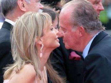 Corinna con el rey Juan Carlos I