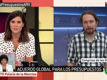 """Pablo Iglesias: """"Soy otra persona, como cualquiera que es padre por primera vez, pero quiero ser presidente en 2020"""""""