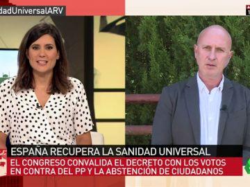 """Félix Hoyos: """"La sanidad universal es beneficiosa para la salud pública y los migrantes suelen ser jóvenes que ingresan más de lo que gastan"""""""