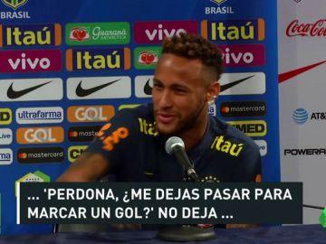 Neymar explica porque fue objeto de tantas faltas en el Mundial