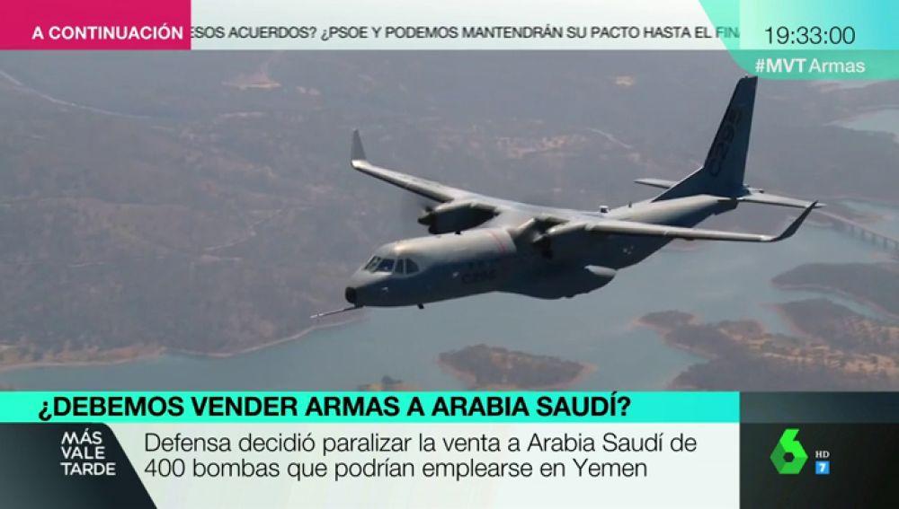 Un avión militar, drones, armas: estas son las ventas que ha hecho España a Arabia Saudí