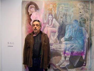 El ilustrador y pintor madrileño Carlos Sánchez Pérez, 'Ceesepe', en una imagen de 2007