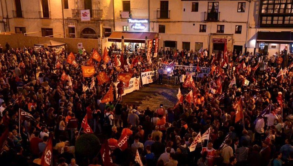 Miles de personas exigen continuidad de Vestas en León y reindustrialización