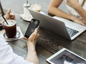 Usuarios con el móvil