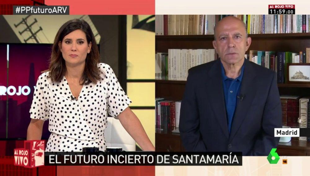"""Zarzalejos: """"Santamaría está demostrando que tiene un perder regular, no me extrañaría que anunciase su marcha"""""""