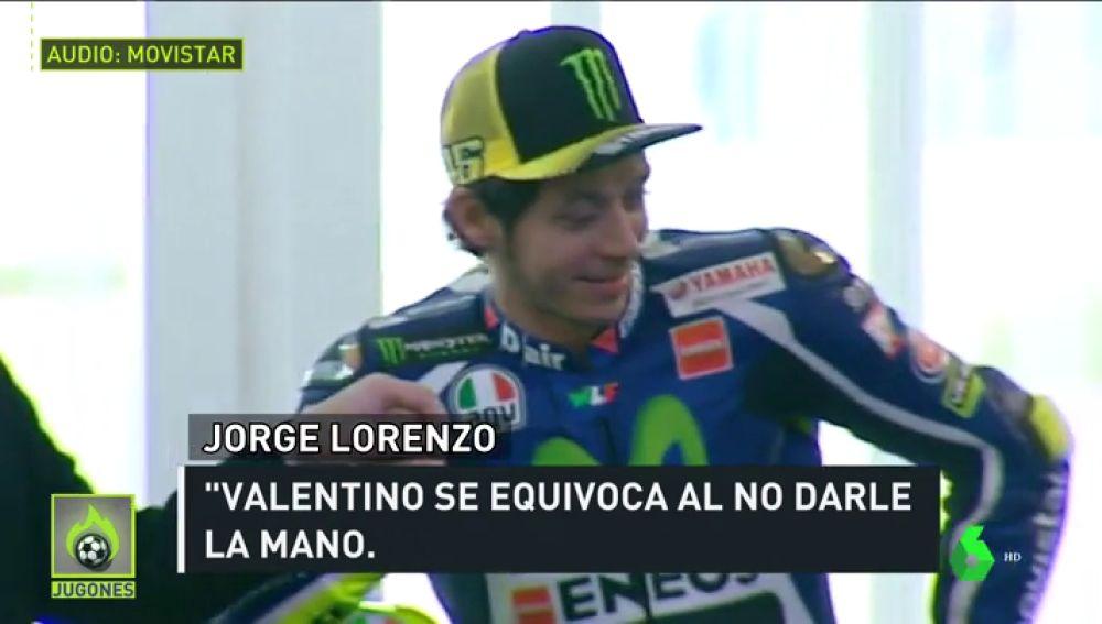 """Críticas a Rossi por su desplante a Márquez: """"Orgulloso, de niños pequeños"""""""