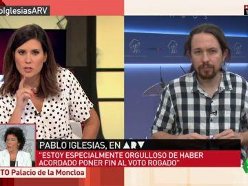 """Pablo Iglesias: """"Es un escándalo el IVA de los productos de higiene femenina, hay que bajarlos al 4%"""""""
