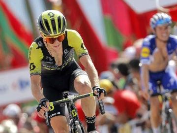 Simon Yates, en La Vuelta