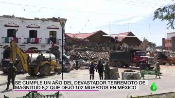 Se cumple un año del devastador terremoto de magnitud 8,2 que dejó 102 muertos en México