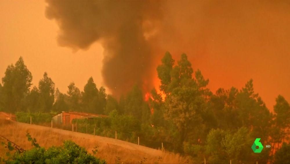 Incendio en Pedró-gao Grande