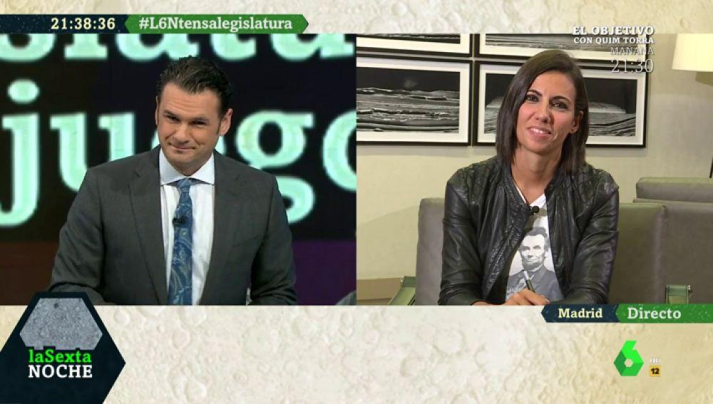 Iñaki López y Ana Pastor