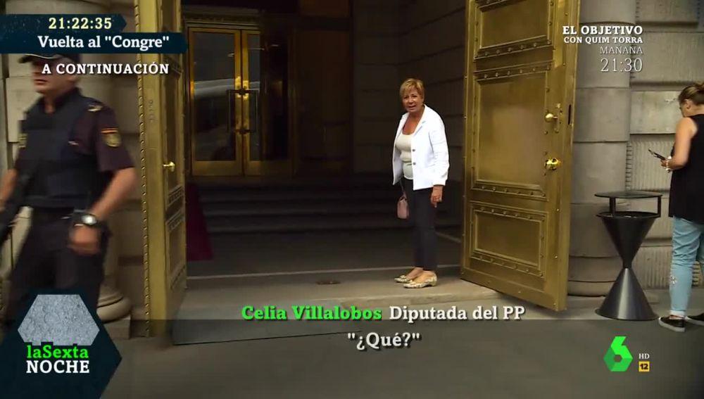 Celia Villalobos en el Congreso de los Diputados