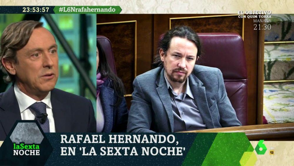 Rafael Hernando Pablo Iglesias Es El Rival Parlamentario Más Correoso Para Debatir