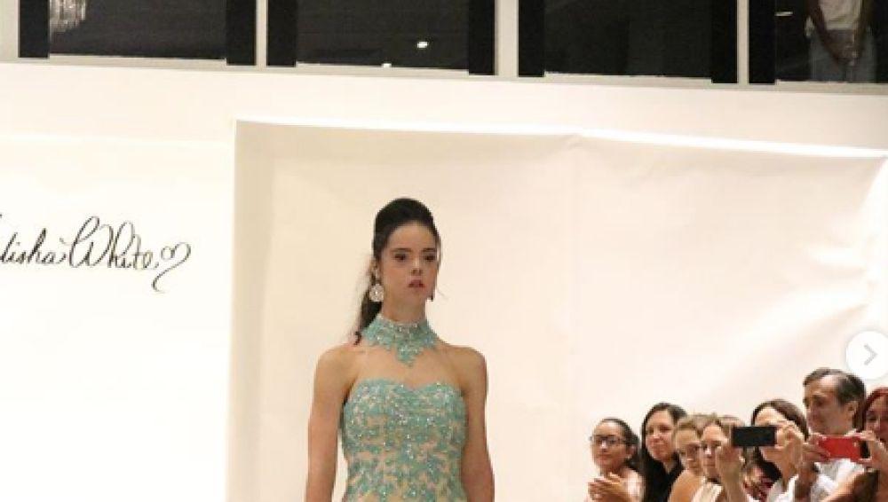 Marian Ávila desfila en Nueva York