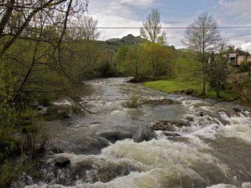Imagen del río Miera
