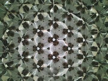 Una de las ilusiones ópticas que ofrece el Museo de las Ilusiones de Dubái