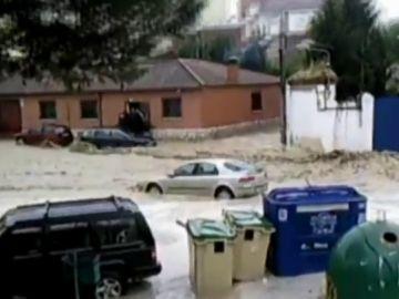 Imagen de las inundaciones en Cebolla