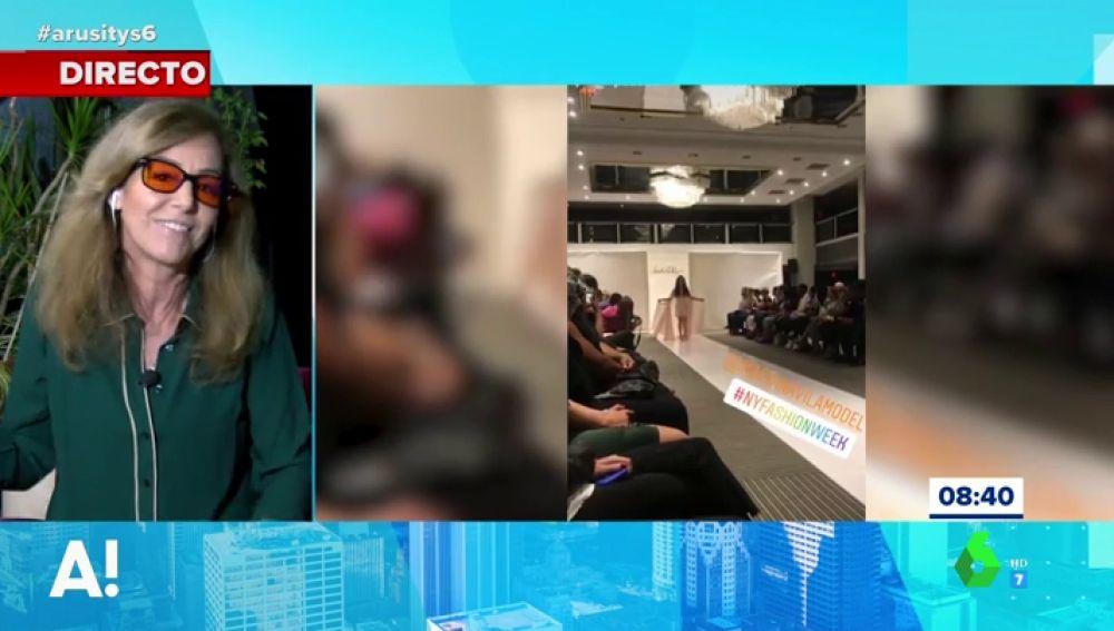 El análisis de María Estévez del desfile de la primera modelo española con Síndrome de Down que ha conseguido pisar la Semana de la Moda de Nueva York