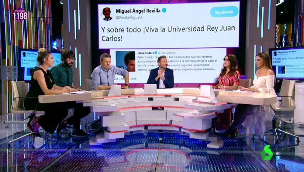 Los zapeadores comentan el zazca de Miguel Ángel Revilla