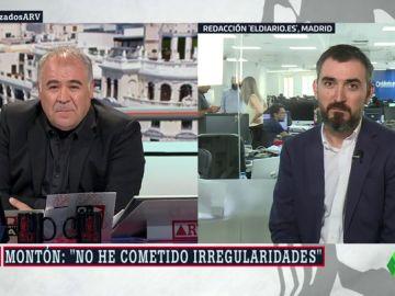 """Ignacio Escolar: """"Montón no prueba que aprobó el máster en las mismas condiciones que el resto de alumnas"""""""
