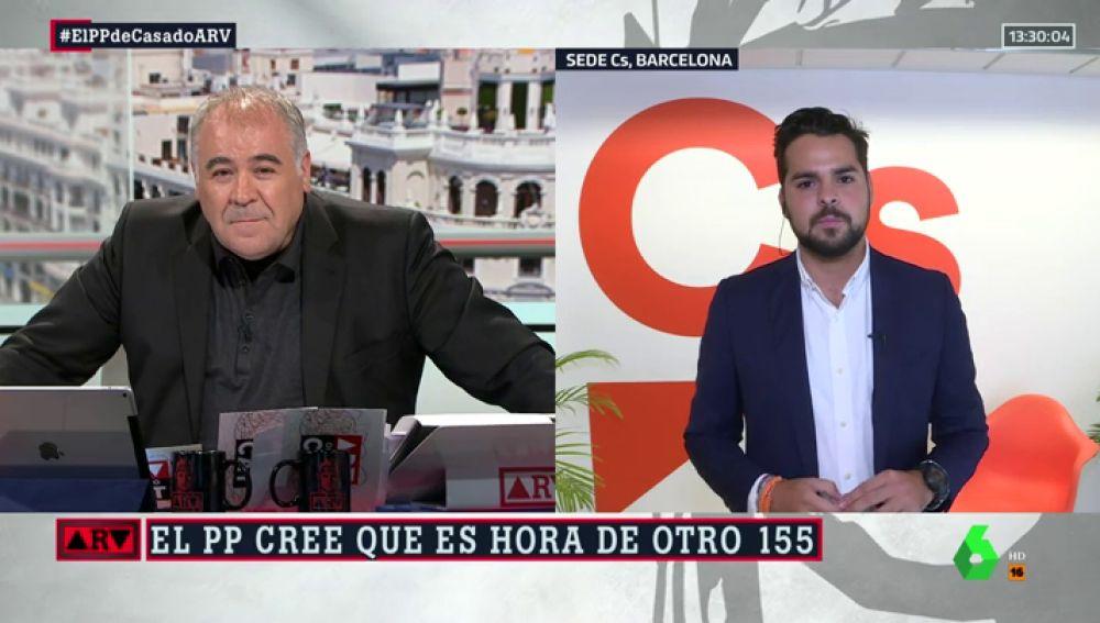 """Fernando de Páramo: """"El adversario desde hace tiempo para el PP es Ciudadanos. Nos critican por quitar lazos"""""""