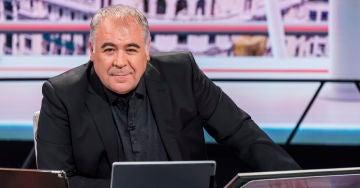Antonio García Ferreras en el nuevo plató de ARV