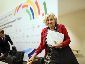 La alcaldesa de Madrid, Manuela Carmena